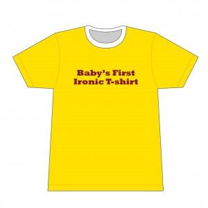 Baby t-shirt sample