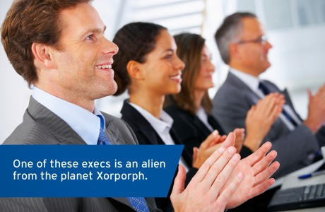 Stock Photo Bits - Marshall Creative - Alien Executives