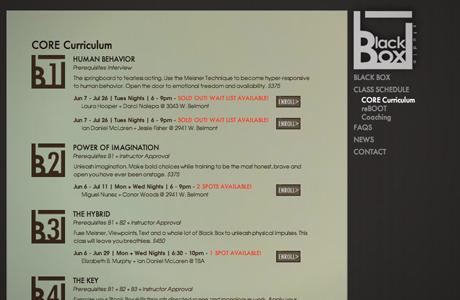 Blackbox Acting Studio - Marshall Creative