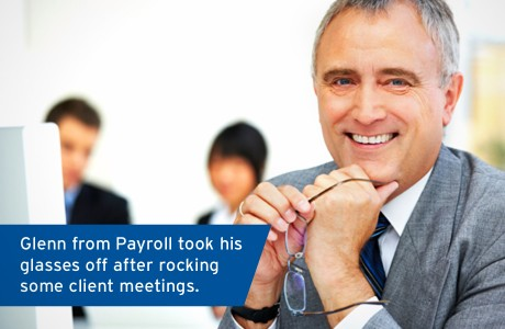 Stock Photo Bit - Marshall Creative - Glen from payroll