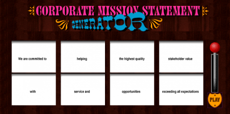 Corporate Mission Statement - Marshall Creative