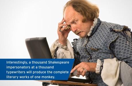 Marshall Creative Stockbit Monkeys Shakespeare